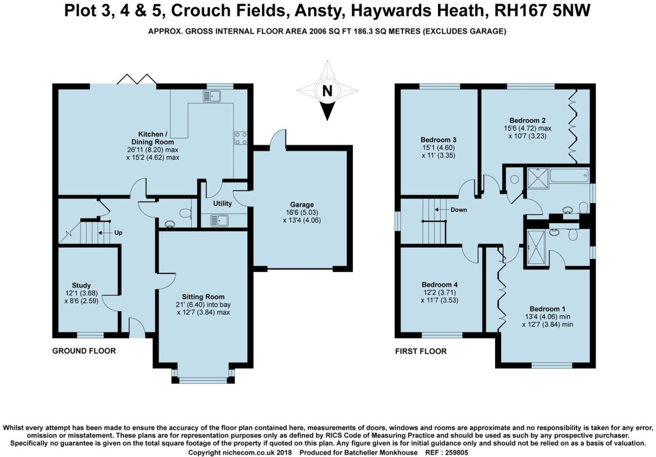 4 bedroom detached house for sale in Crouch Fields, Ansty, RH17