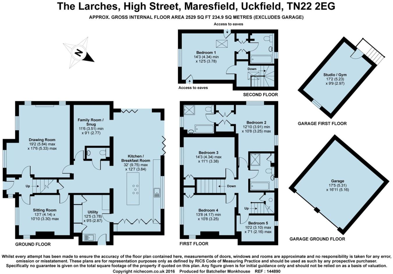 5 bedroom detached house for sale in High Street, Maresfield, TN22