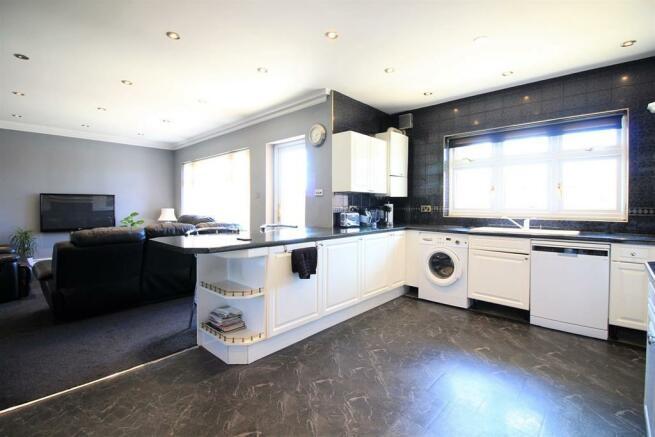 Kitchen + Sitting Room