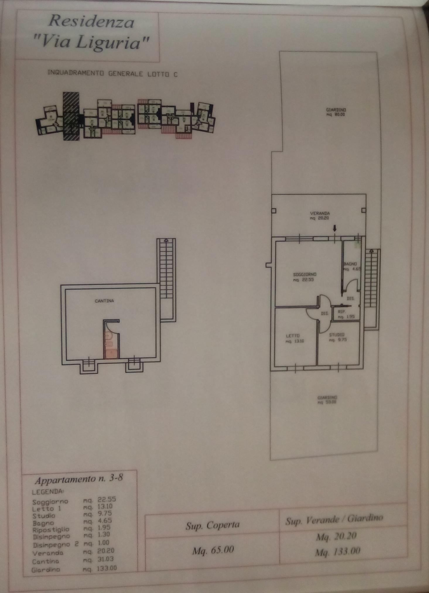 3 Bedroom Terraced House For Sale In Sardinia Sassari Valledoria Electrical Wiring Diagram Basement Italy