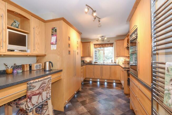 Well presented kitchen