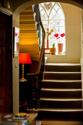 Very fine period staircase