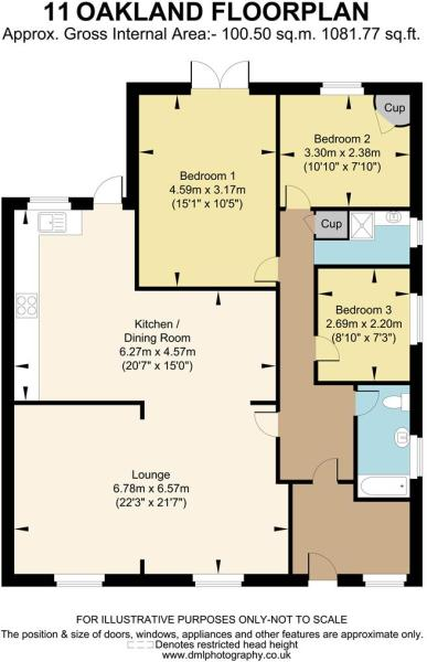 11 Oakland floorplan