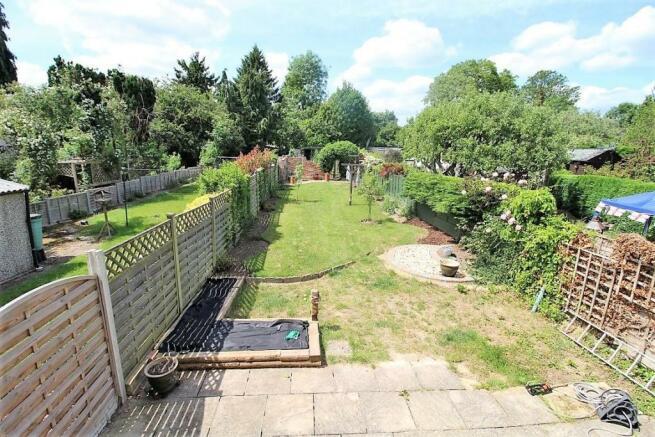 View of Garden from Bedroom 2