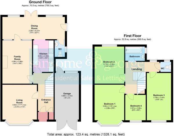 122 Dee Road - Floor Plan.JPG