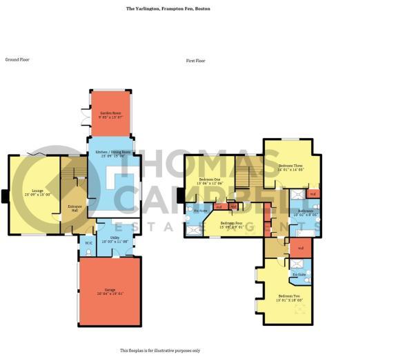 Plot 6, The Yarlington, Frampton Fen - Floorplan.j