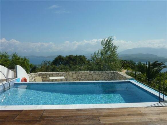 Erato pool and view