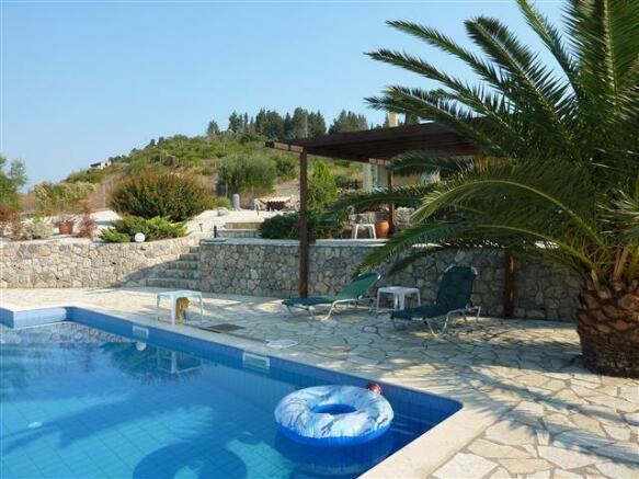 Villa no.1  pool