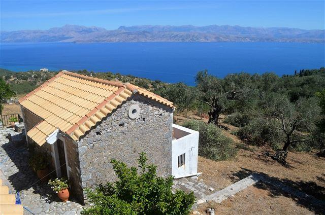 the guest house and view