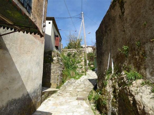 in the village of Gastouri