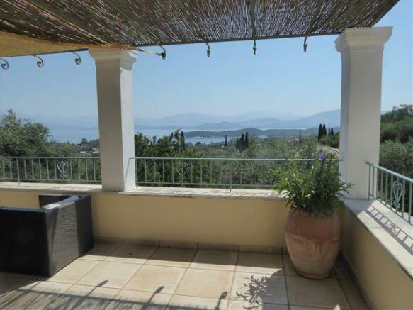 verandah and view