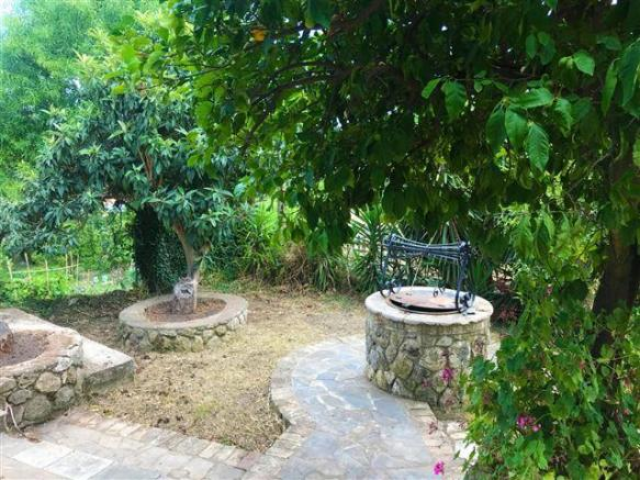 Garden with Well