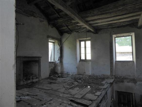 inside the old house