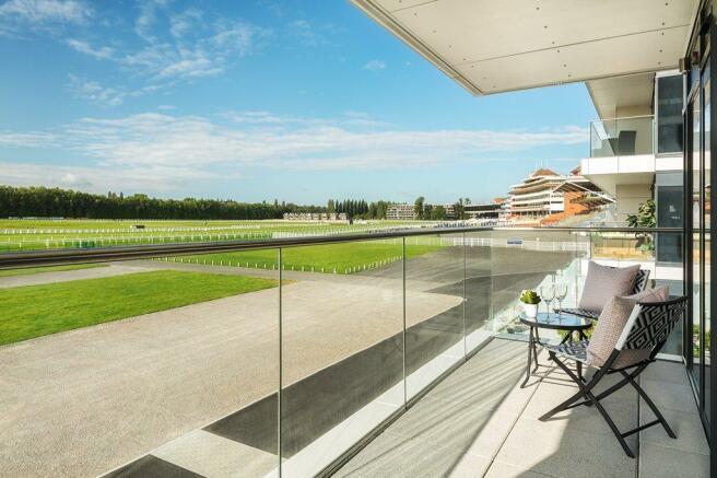 balcony at Newbury Racecourse