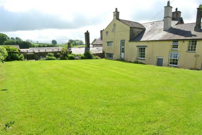 Expansive Rear Lawn