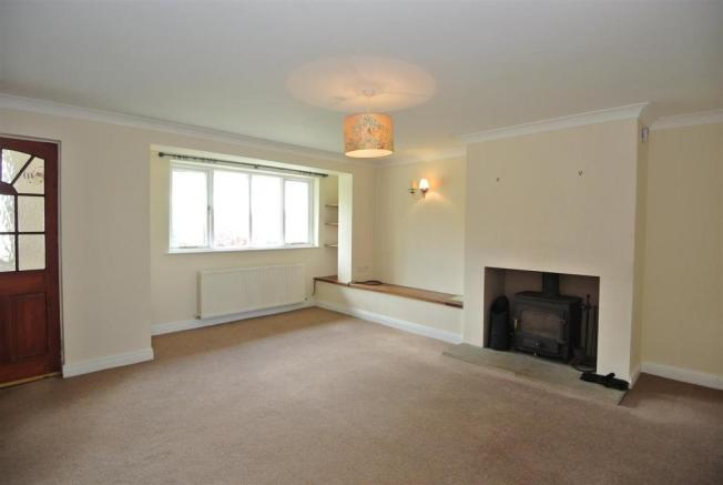Spacious Lounge with Clearview Woodburner