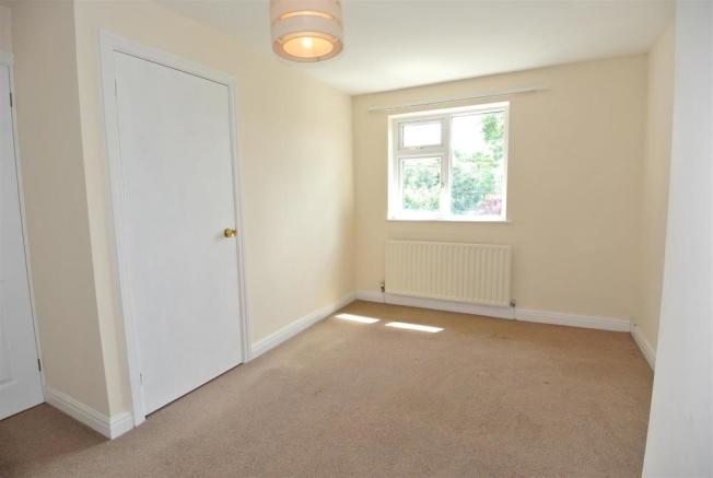 Master Bedroom is a Spacious Double