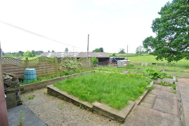 Garden with Rural Views