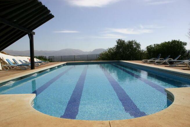 17m x 7m pool