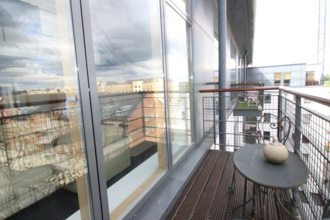 Balcony outside rece