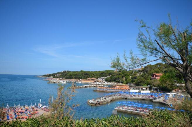 Portovecchio bay