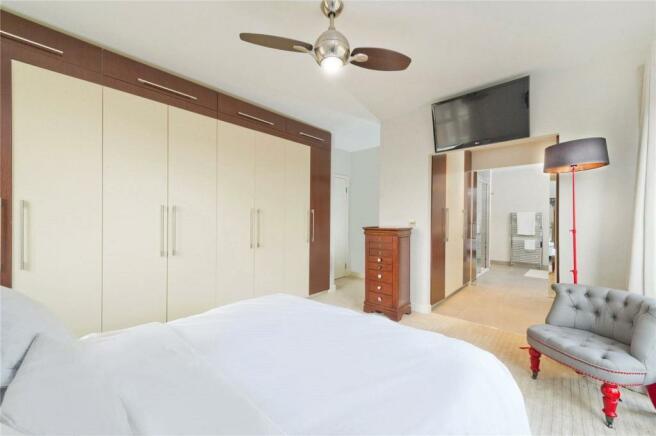 Master Bedroom Angle
