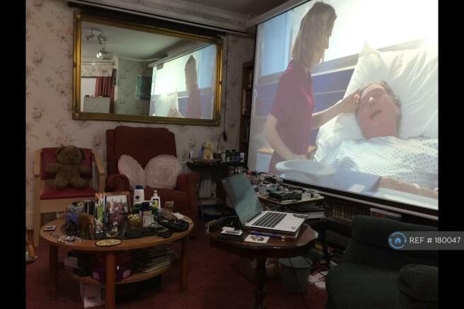 My Lounge Showing My Home Cinema