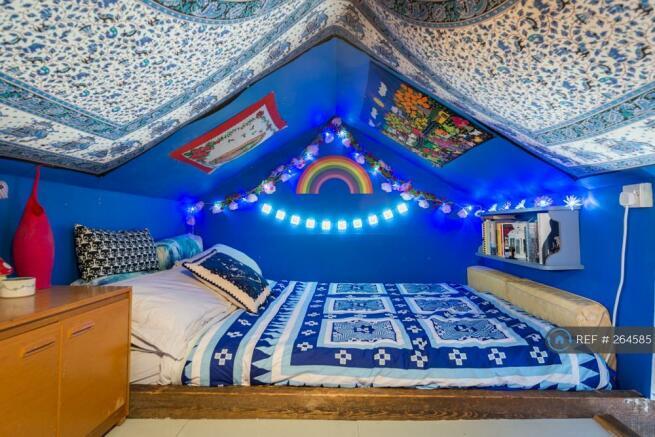 Main Bedroom In The Attic