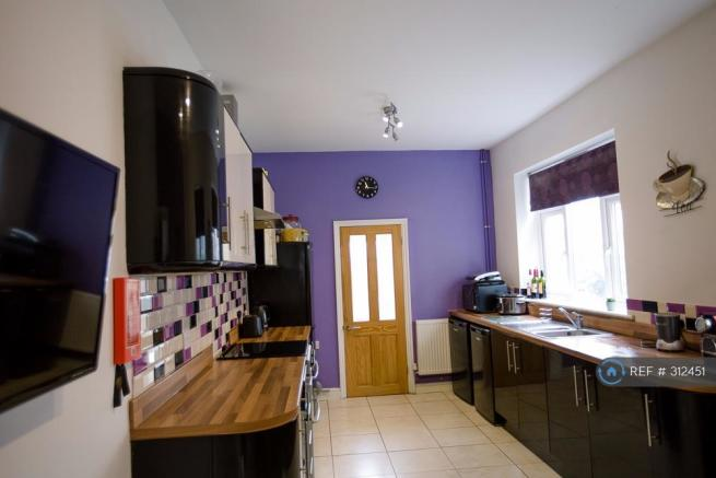 Kitchen Leading To w/c & Utility
