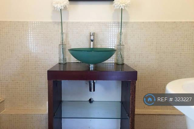 Glass Bowl Sink In Bathroom 1 Of 2 Bathrooms
