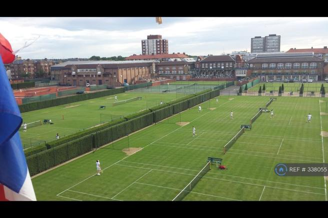 Queens Tennis Club - View From The Flat