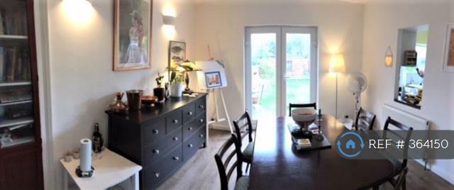 Dining Room With Doors To Garden