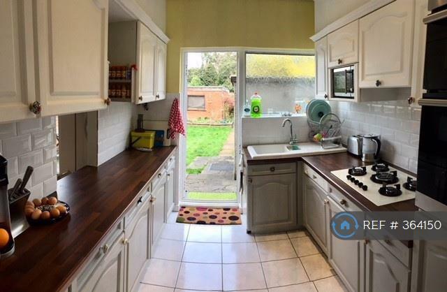 Kitchen With Door To Garden