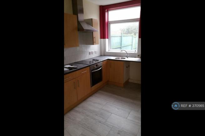 Newly Tiled Kitchen Flooring