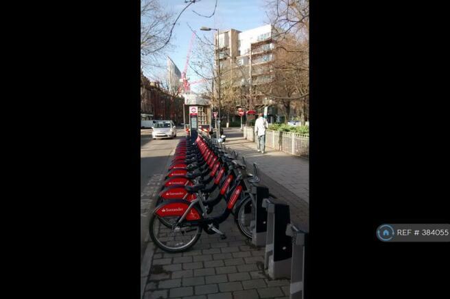 London Bikes Outside Block
