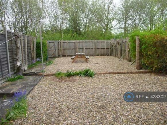 Garden, Patio, Picnic Bench