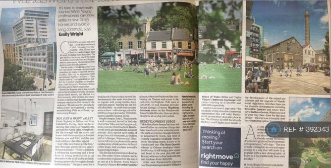 Wandsworth - Evening Standard Review, 230817