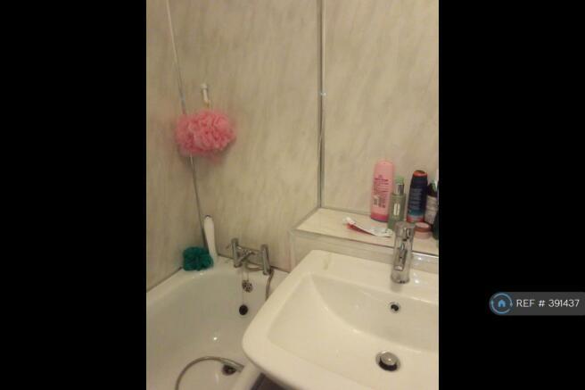 Bath Tub Full Splash Back