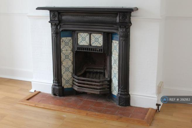 Fireplace/ Front Reception Room