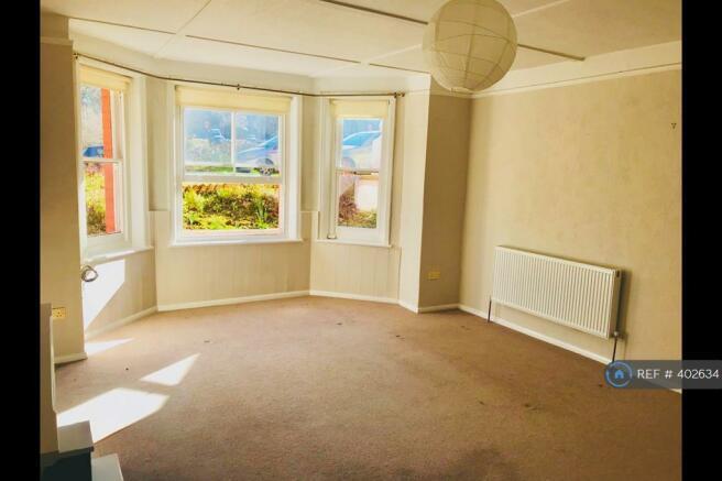 Living Room From Door Window View