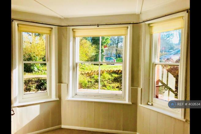 Living Room Windows View