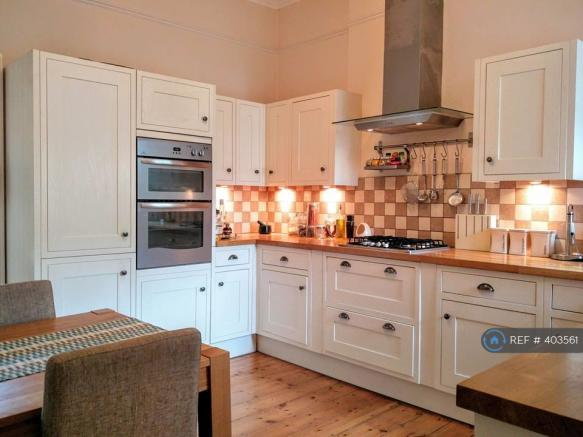 Kitchen With Ample Storage, Double Oven, Gas Hobs