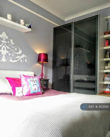 Double Bedroom With King Size Bed And Wardrobes