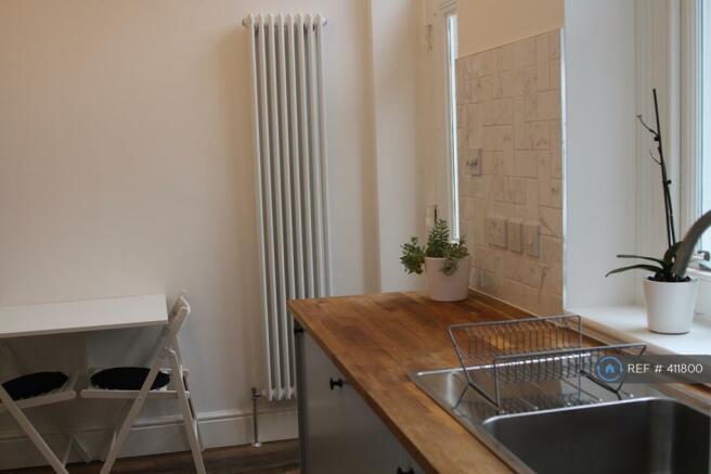 Bright Kitchen Facing The Beautiful Inner Garden