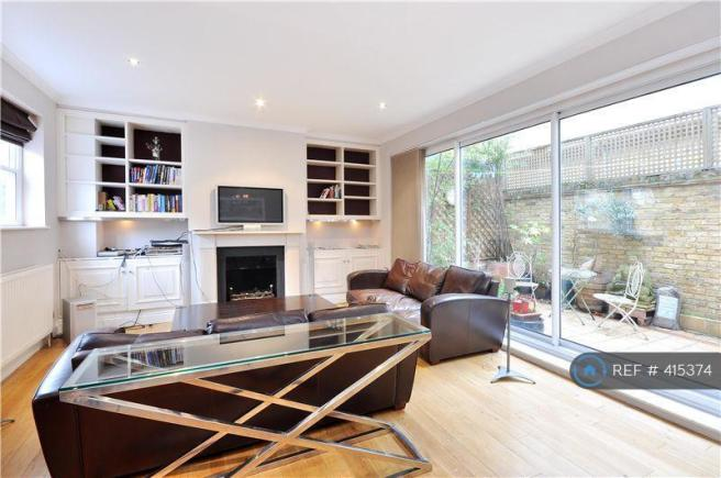 Large & Bright Reception Leads To Garden