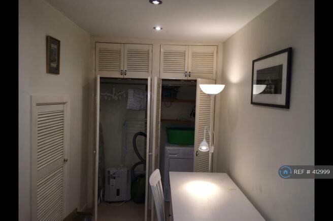 Hallway Office (Storage Cupboards)