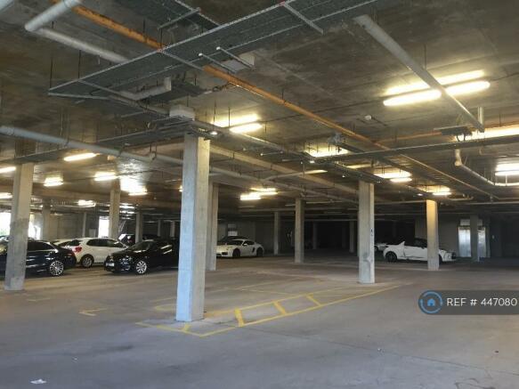 Underground Parking With Designated Parking Space