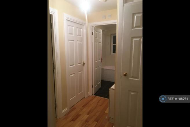 Hallway Facing Bathroom