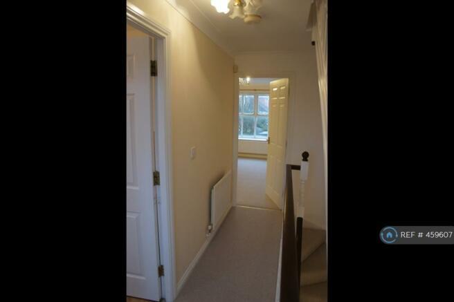 First Floor Hallway To Living Room