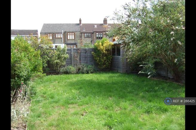 Rear Garden From House
